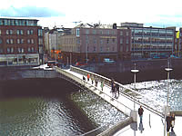 Reservations Network offers short term lettings of apartments overlooking the Liffey River in the heart of Dublin Ireland